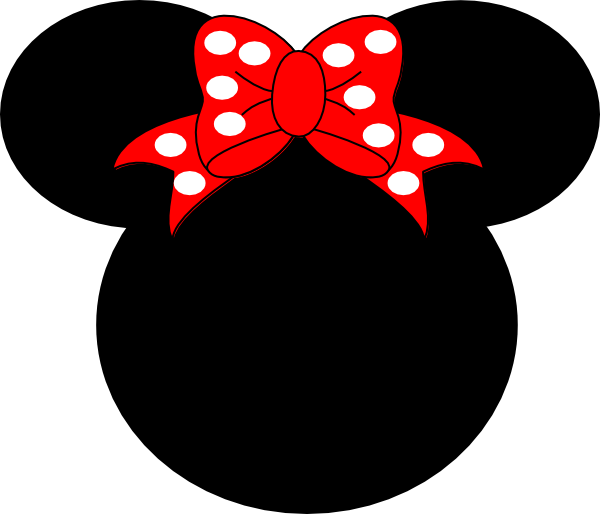 Mickey mouse bow png. Pink clip art at