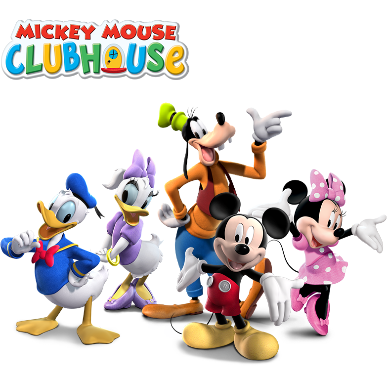 Mickey mouse clubhouse characters png. Combo laugh n leap