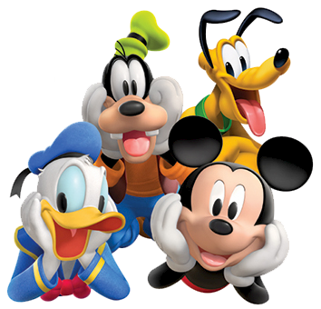 Mickey mouse club png. Clubhouse clipart gang