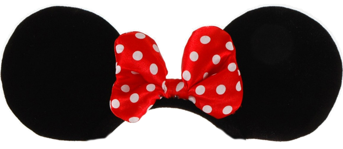 Minnie mouse ears png. Free mickey template download