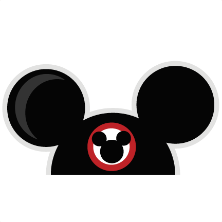 Mickey mouse ears png. Svg cut files for