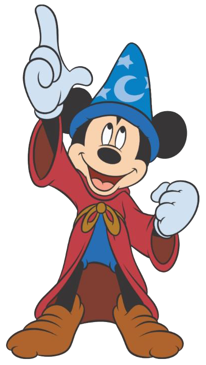 Mickey mouse fantasia png. Sorcerer clipart