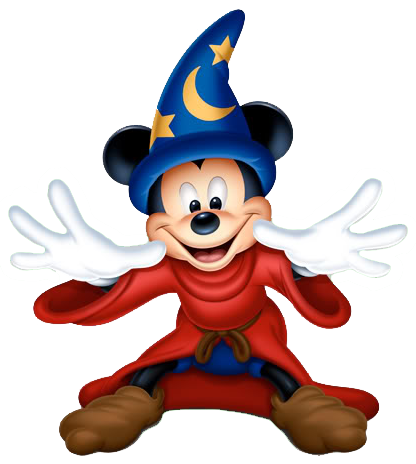 Mickey mouse fantasia png. Sorcerermickey pixels disney characters