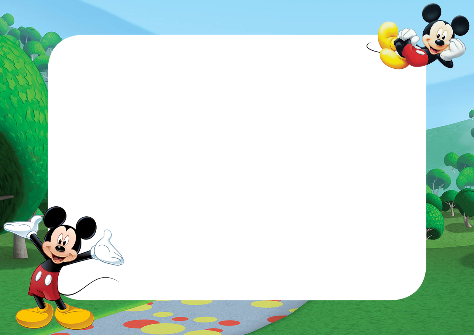 20 Mickey Mouse Frame Png For Free Download On Ya Webdesign
