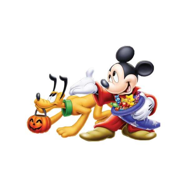 Mickey mouse halloween png. Pluto psd official psds