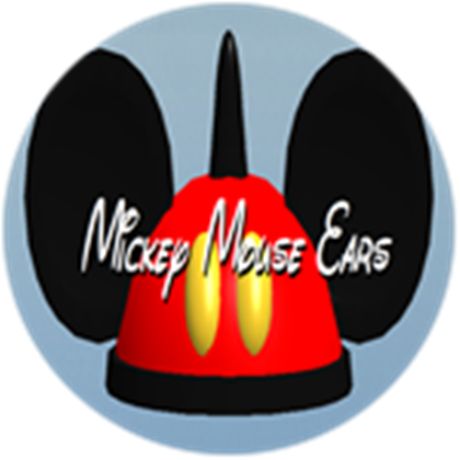 Mickey mouse hat png. Ears roblox