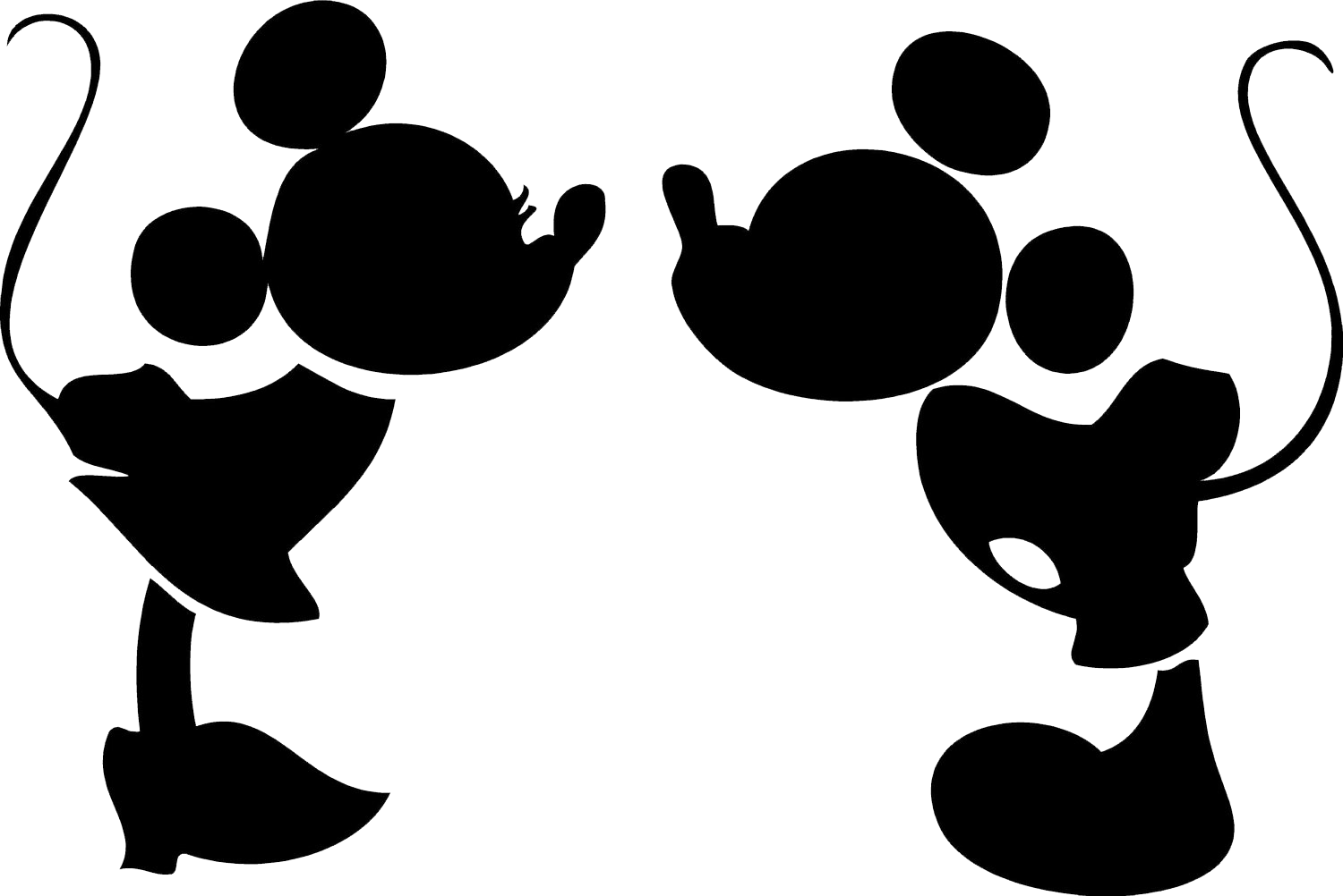 Mickey mouse head silhouette png. Please looking for help