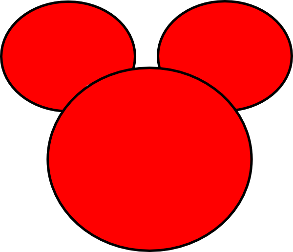 Mickey mouse head silhouette png. Of at getdrawings com