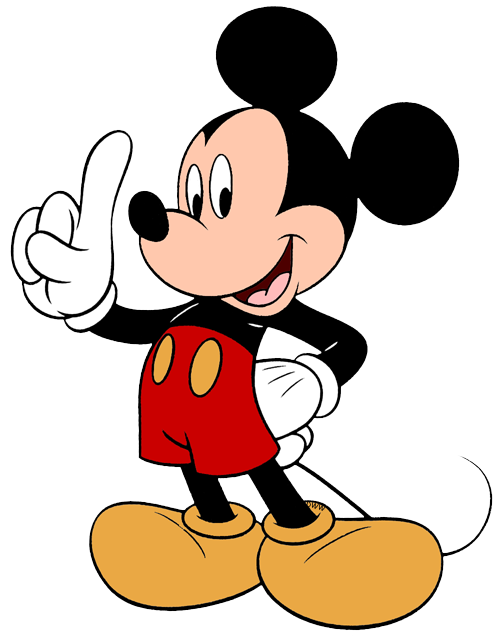 Mickey mouse number 1 png. Pete clubhouse toy clipart