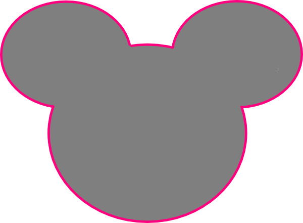 Mickey mouse outline png. Clip art at clker
