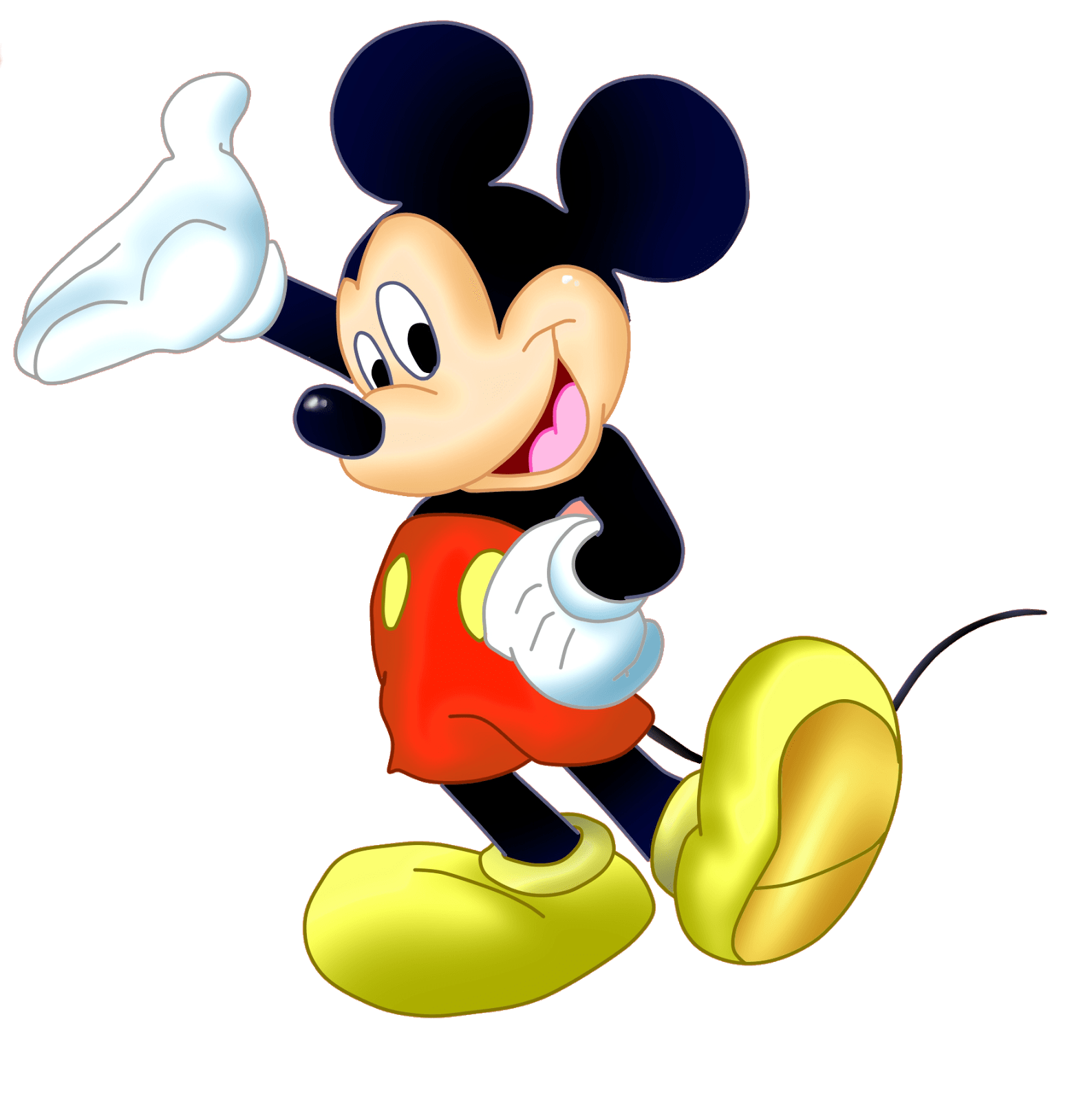 Mickey mouse png transparent. Stickpng sideview