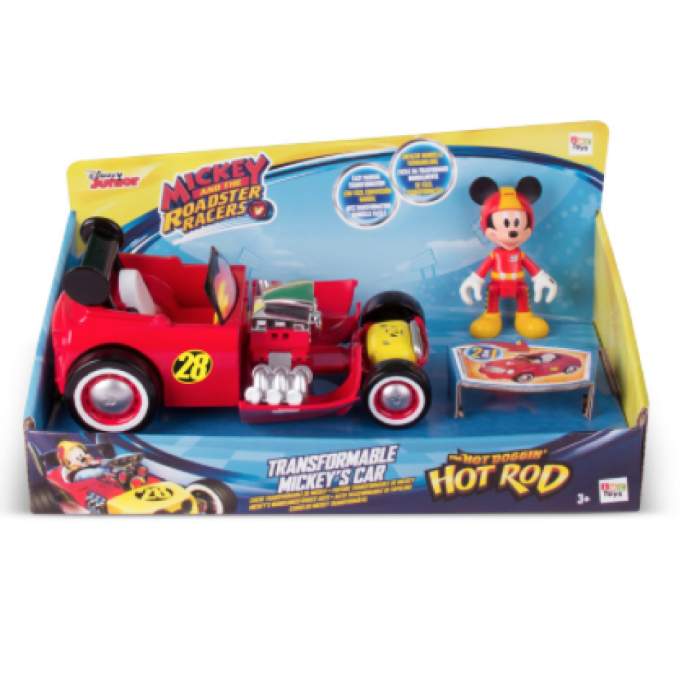 Mickey mouse roadster png. Transformable vehicle asst and