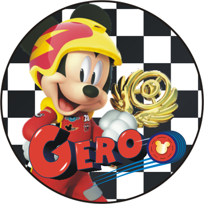 Mickey mouse roadster png. And the racers p