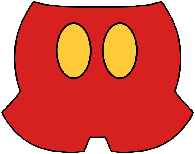 Mickey pants png. Mouse and friends icons