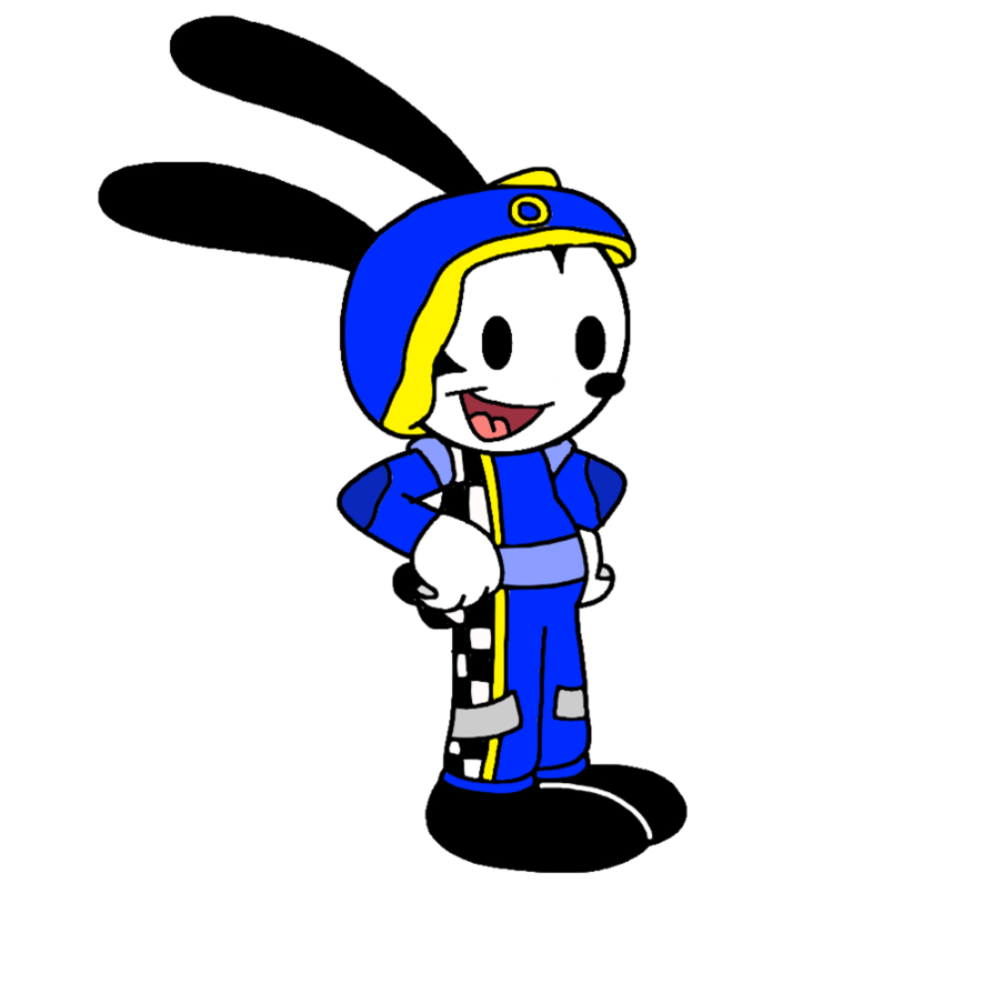 Mickey roadster racers png. Oswald as racer by