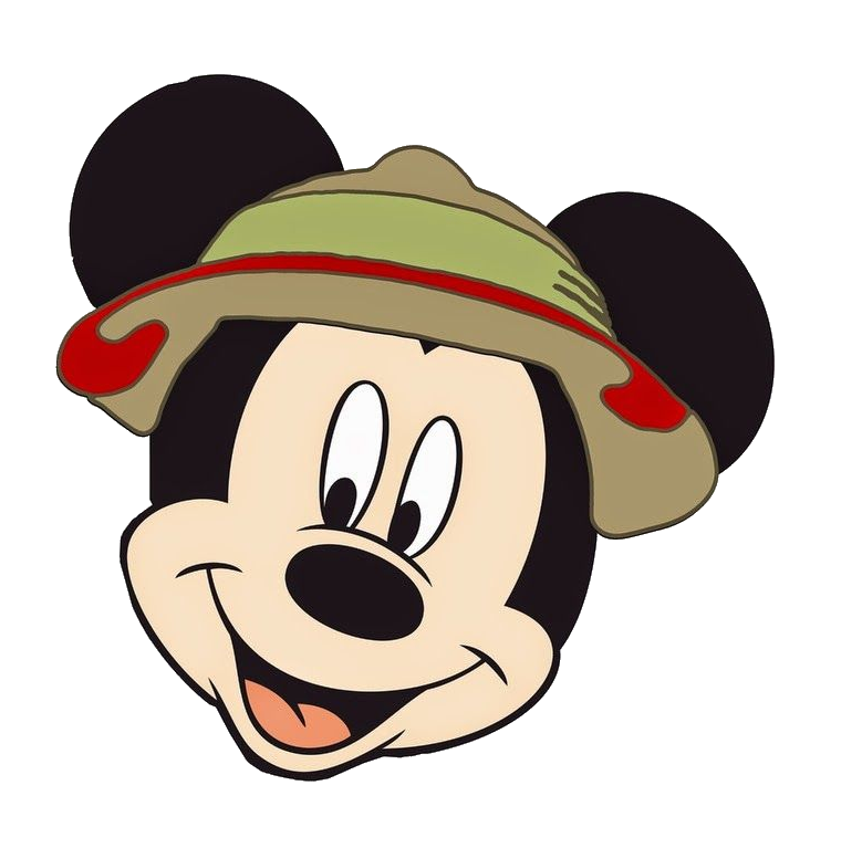 838ce78df25ad Mickey Safari Transparent   PNG Clipart Free Download - YA-webdesign