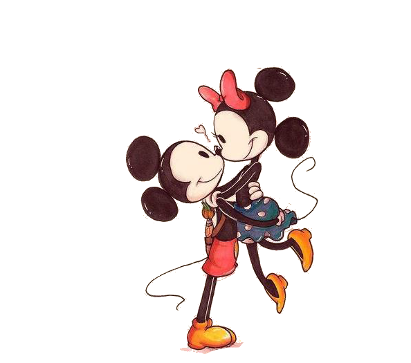 Mickey y minnie png. By tutospp on deviantart