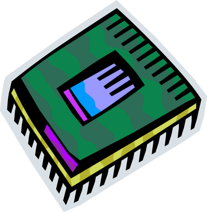 microchip vector electronic component