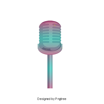Microphone png cartoon. Microfono im genes vectores