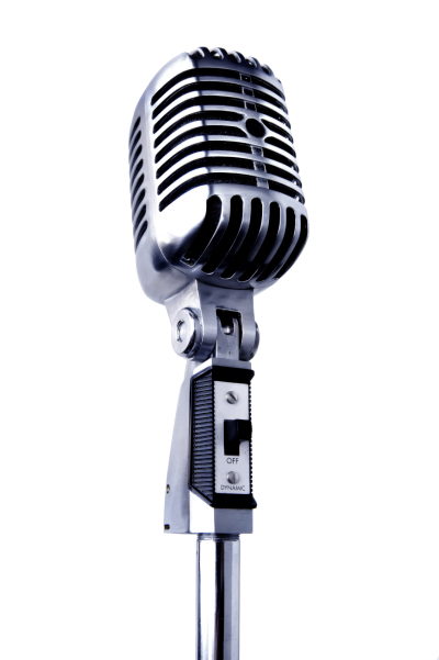 Microphone and music notes png. Mic white background images