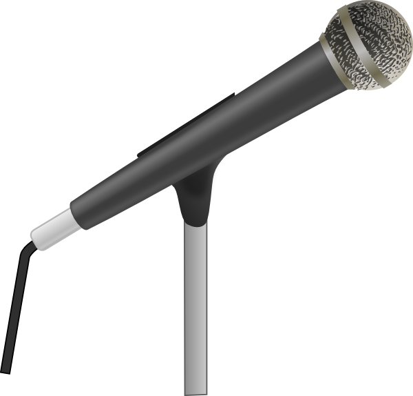 Microphone clipart christmas. Panda free images info