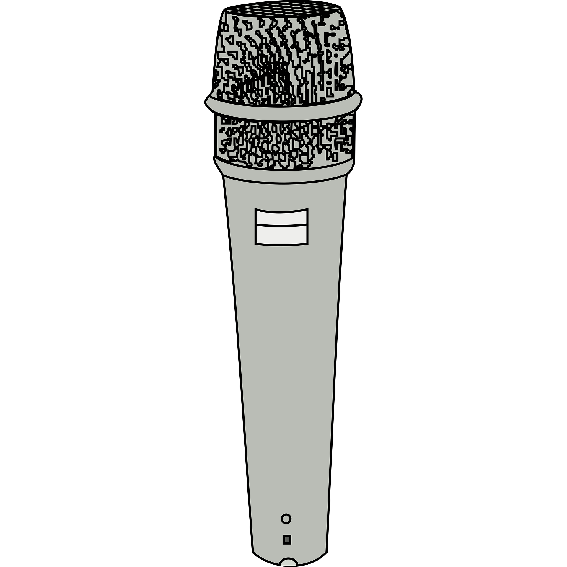 Microphone clipart colored. Music illustration london mums
