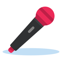 Microphone clipart colored. Radio icon transparent png