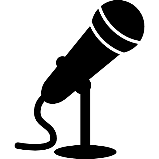 Microphone clipart colored. Mic icons free download