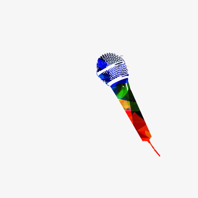 Microphone clipart colored. Color music png image