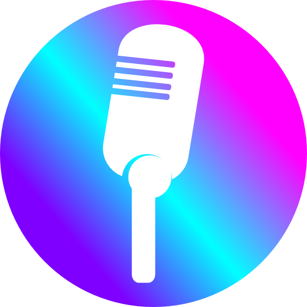 Microphone clipart colored. Clip art at clker