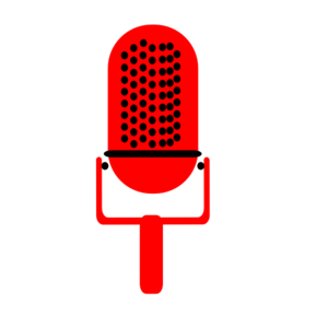 microphone png red