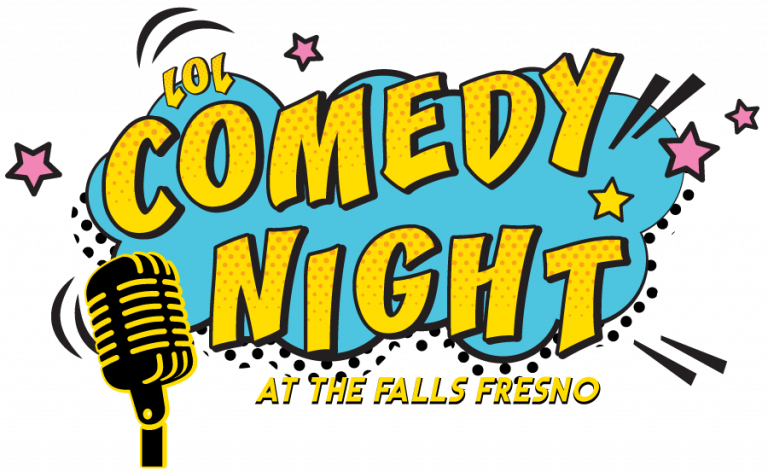 Microphone clipart comedy. Fresno night the falls