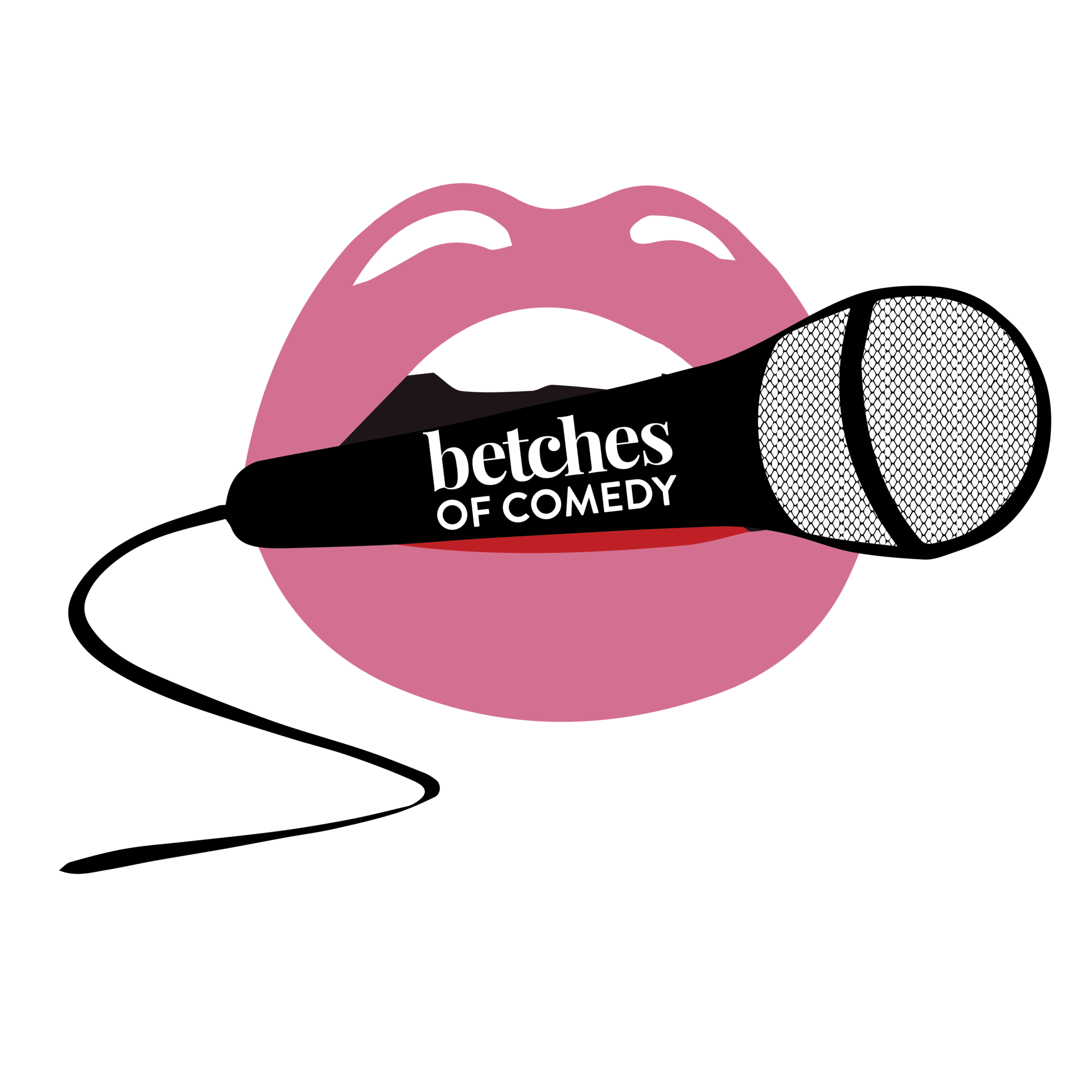 Microphone clipart comedy. Betches of brunch tickets