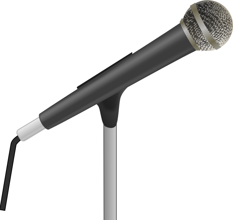 Microphone clipart comedy. Medium image png