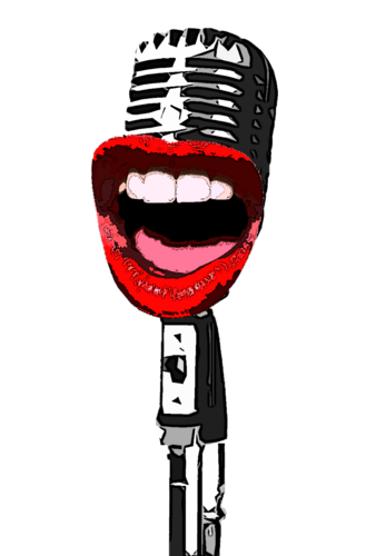 Microphone clipart comedy. Laughing mic laughingmiccmdy twitter