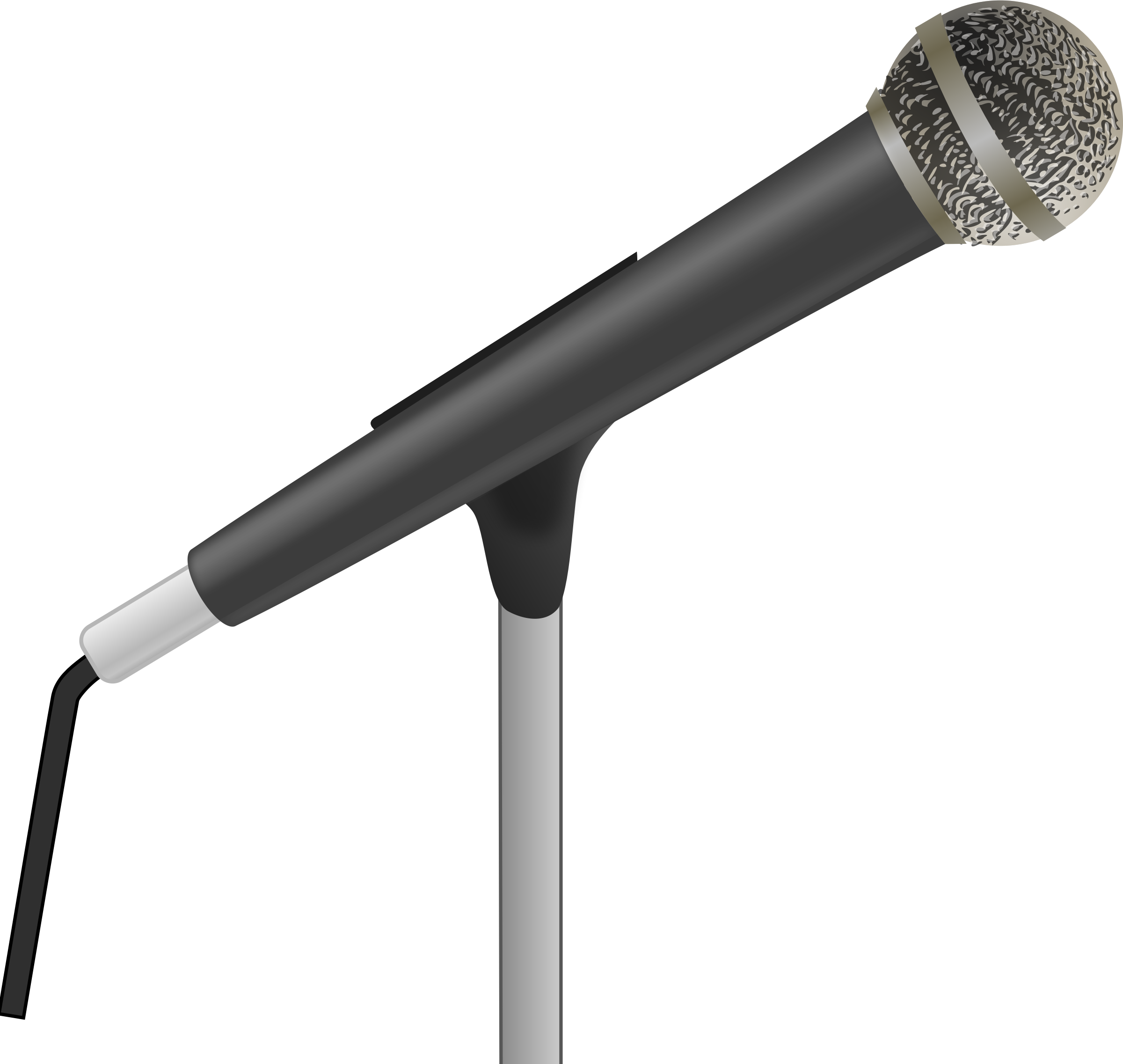 microphone clipart comedy