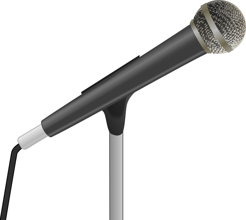 Microphone clipart news. Free images download clip