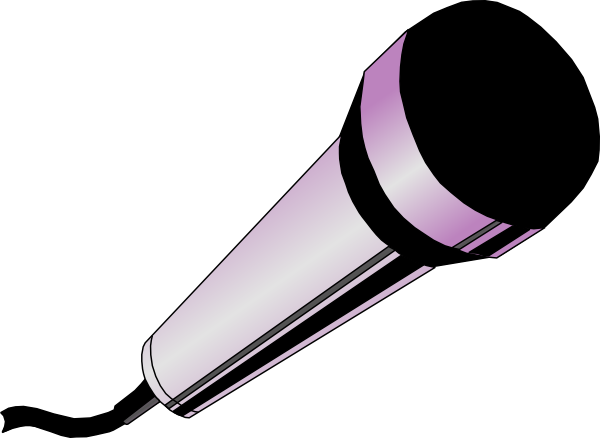 Microphone clipart cartoon. Cliparts abeoncliparts vectors