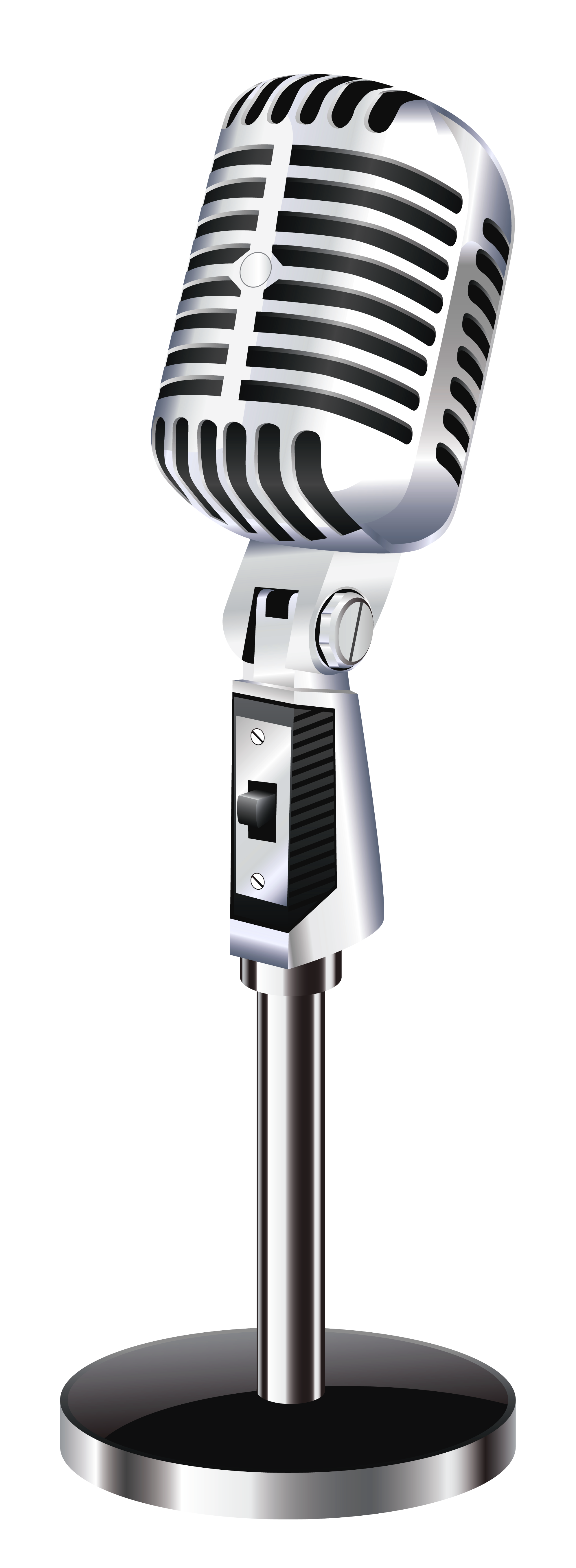 microphone clipart transparent