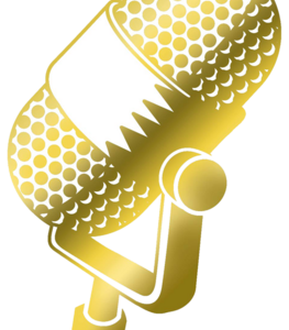 Microphone clipart gold. Png images in collection