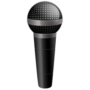 Cartoon microphone png. Image free download