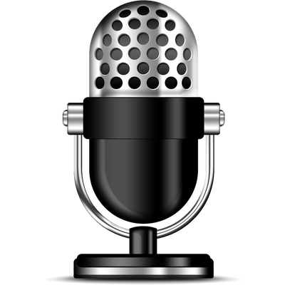 Microphone clipart png. Podcast transparent stickpng