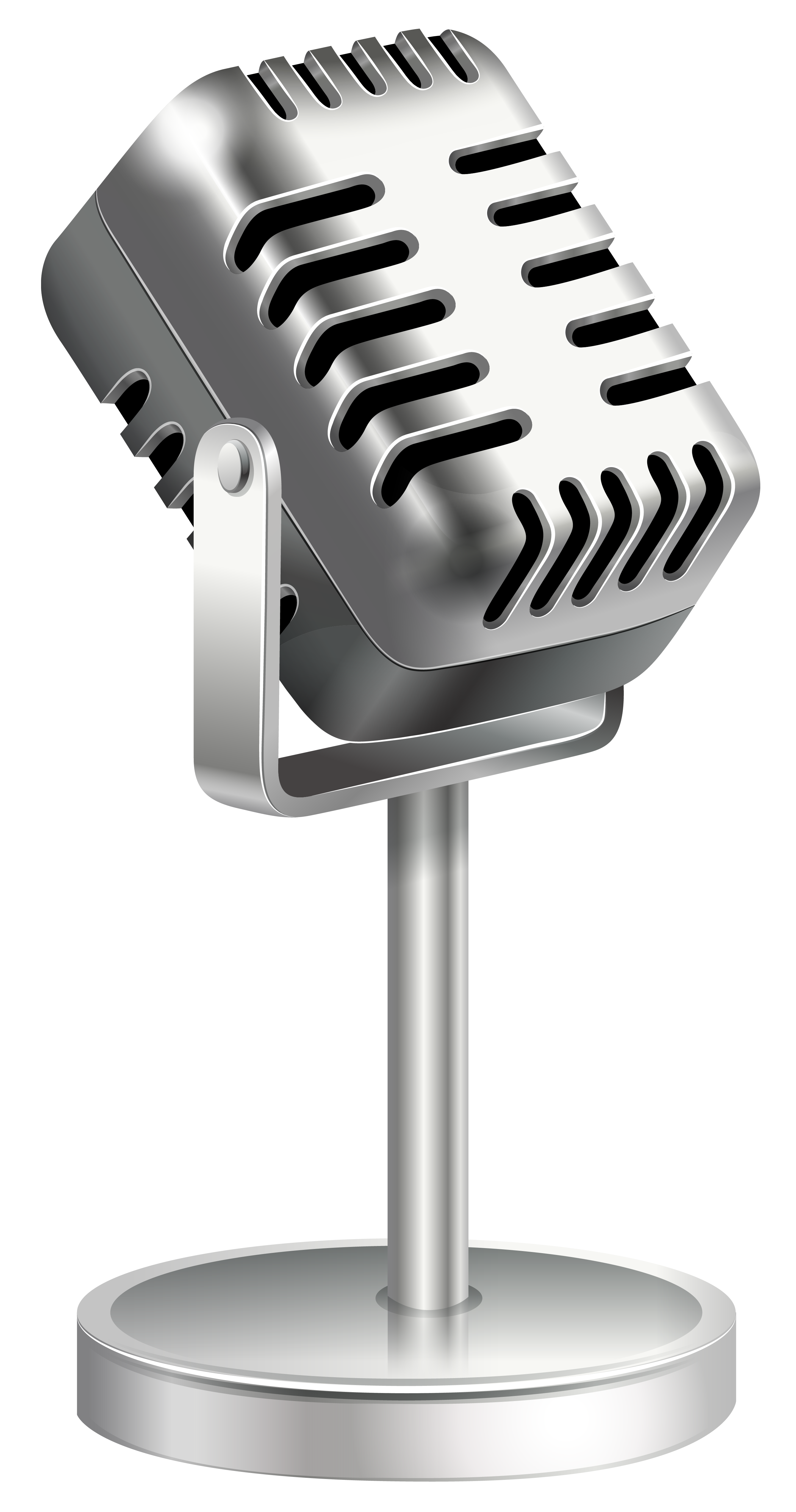 Retro microphone png. Clipart image gallery yopriceville