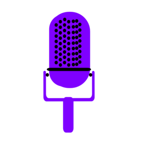 Microphone clipart purple. Free on dumielauxepices net