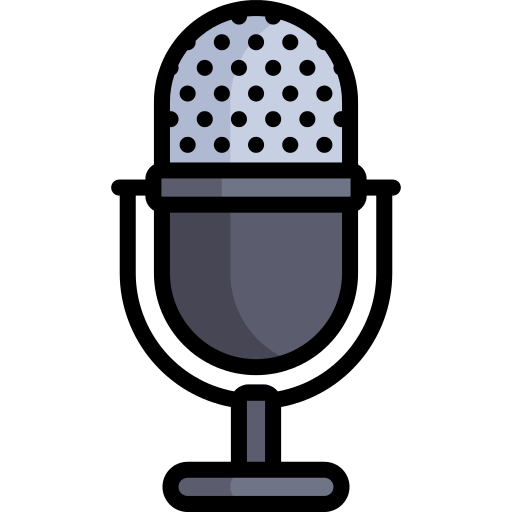 Microphone clipart radio show. Png icon repo free