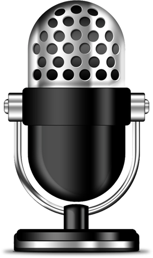 Microphone clipart voice actor. Female over talent beth
