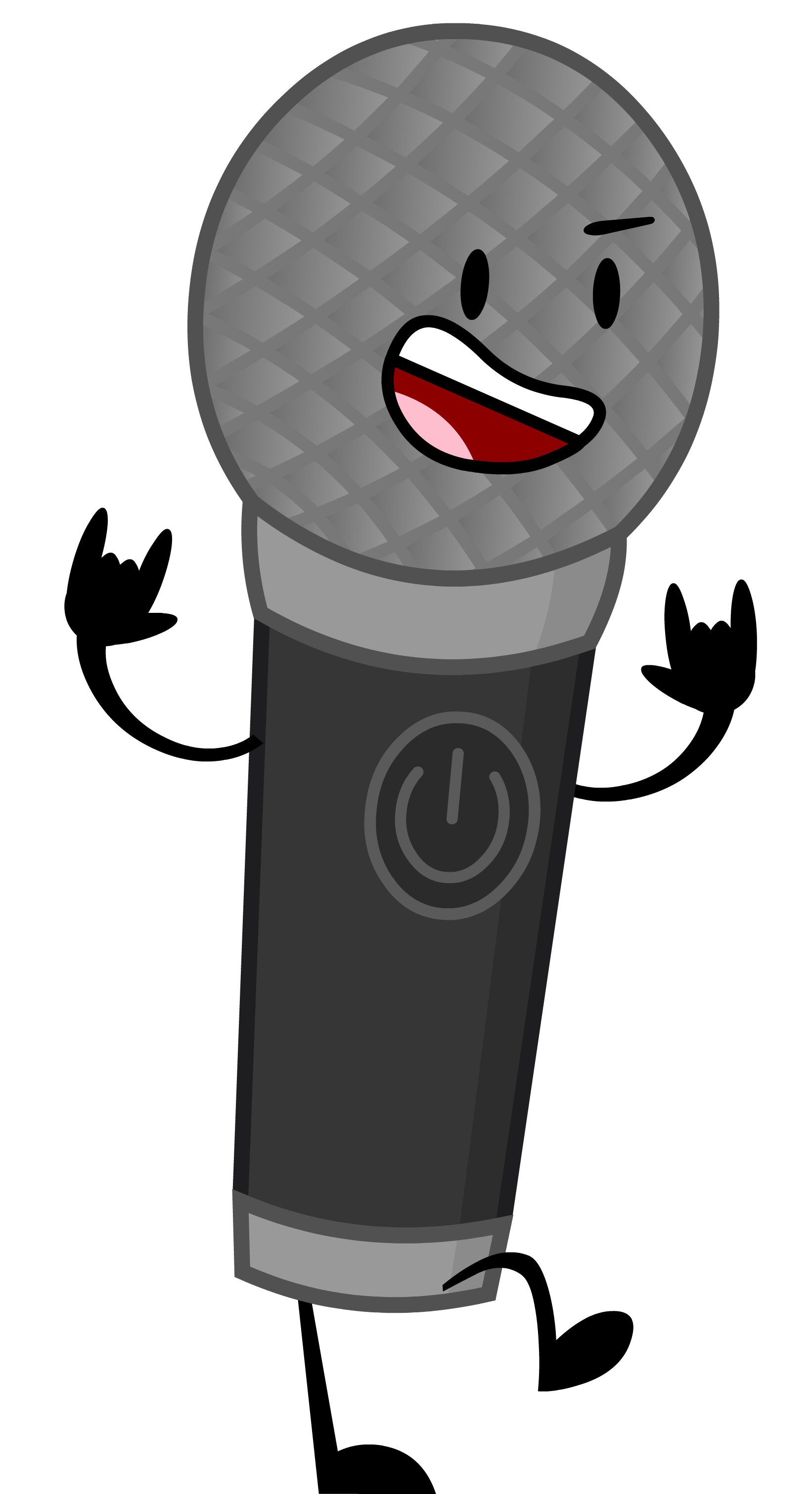 Microphone clipart voice actor. Inanimate insanity wiki fandom
