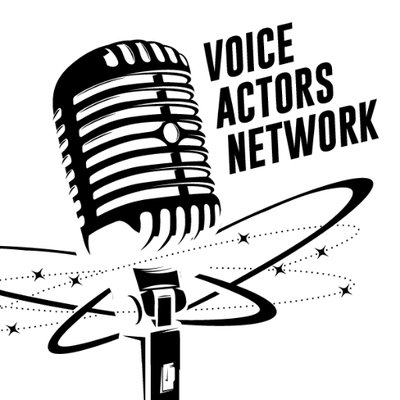 Microphone clipart voice actor. Actors network voiceactorsnet twitter