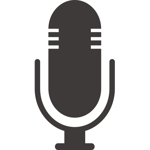 Mic icon png. Hb microphone with and