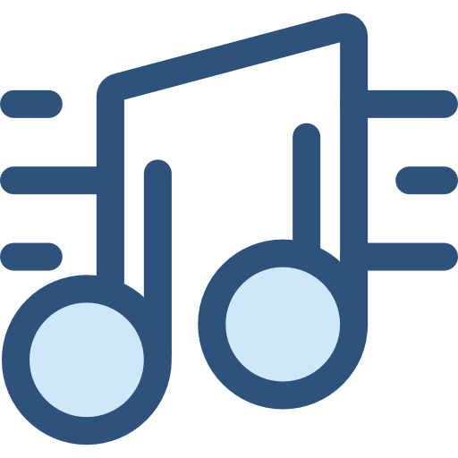 Microphone music notes png. Note musical icon svg